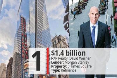 Die 10 größten Immobilien-Deals in New York in 2018